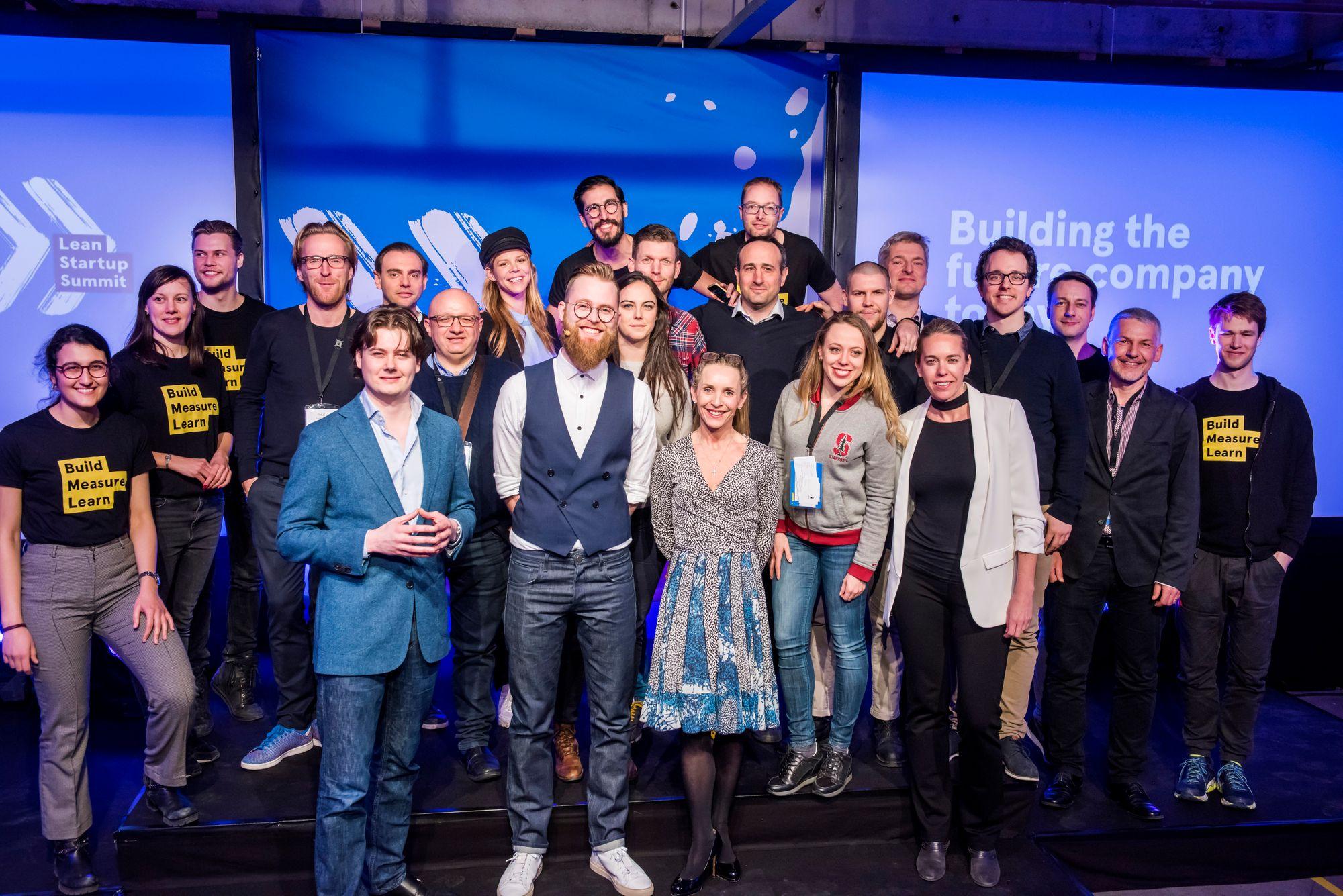 Lean Startup Summit Europe 2018 team