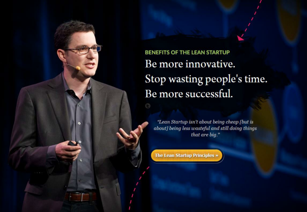 Eric Ries on benefits of the Lean Startup
