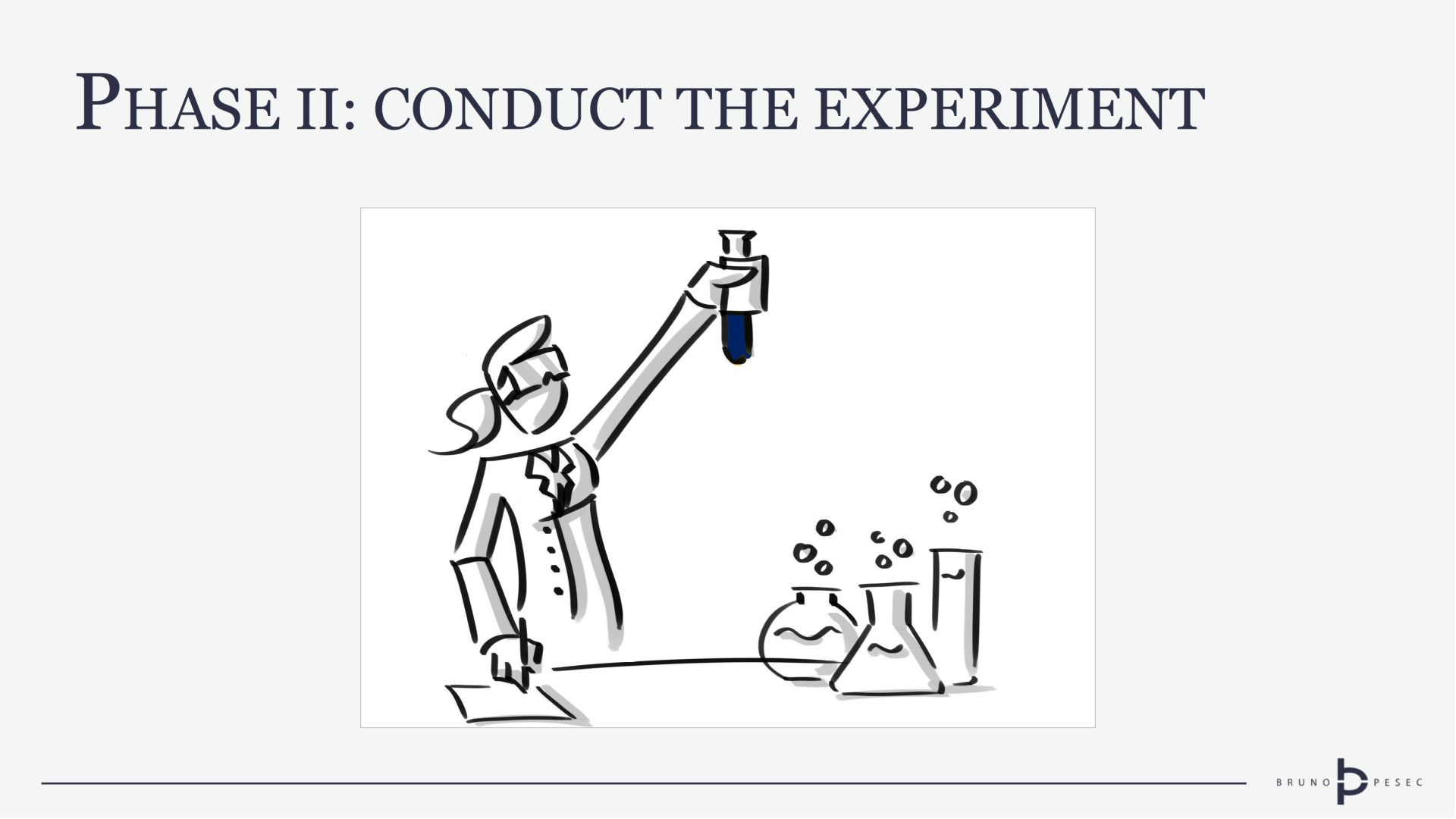 Phase II: Conduct the experiment